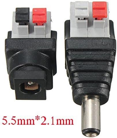 Liwinting Dc Verbinder 5 5 X 2 1 Mm Dc Buchse Dc Elektronik