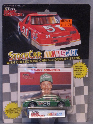Bernstein Collectors - 1991 NASCAR Racing Champions . . . Kenny Bernstein #26 Quaker State . . . Includes Collector's Card & Display Stand