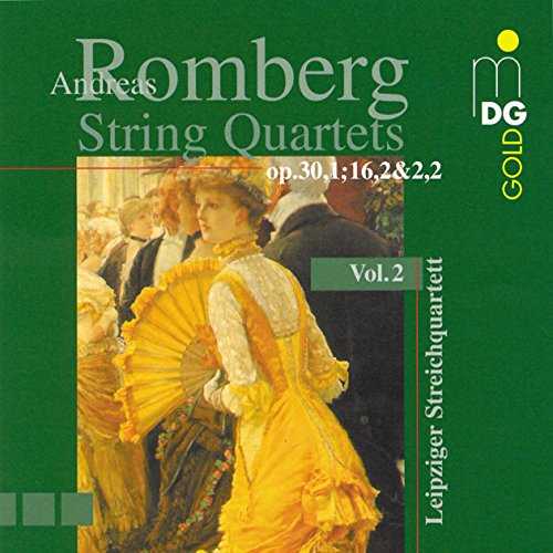 Price comparison product image Romberg: String Quartets, Vol. 2