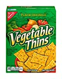 Nabisco Flavor Originals Vegetable Thins Baked Snack Crackers, 8 Ounce (Pack of 6)