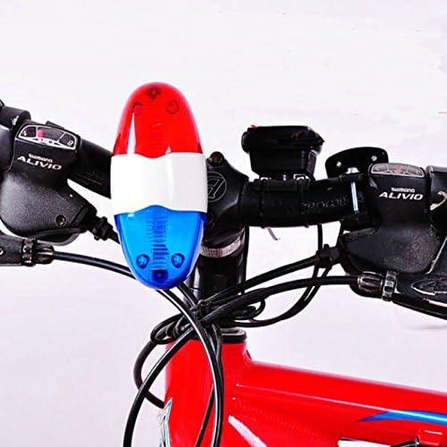 Amazing-trading - Luces y sirena de policía para bicicleta, 6 ...
