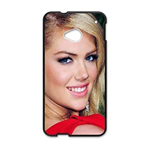 HTC One M7 Cell Phone Case Black_ha41 kate upton red dress girl face Raqky