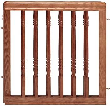 Amazon Com Evenflo Home Decor Wood Gate Harvest Oak
