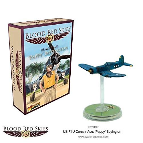 (Blood Red Skies Warlord Games, F4U Corsair Ace: 'Pappy' Boyington)