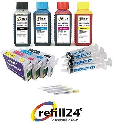 Kit de Recarga para Cartuchos de Tinta Epson T27, T2701, T2702 ...