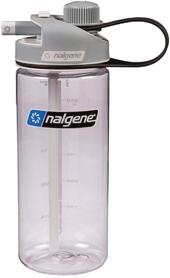Amazon.com: Botella de agua NALGENE MultiDrink de un color y ...