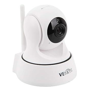 JUILARY-Cameras Cámara De Vigilancia A Distancia 720P HD Todo-Ronda Monitoreo Móvil Monitor