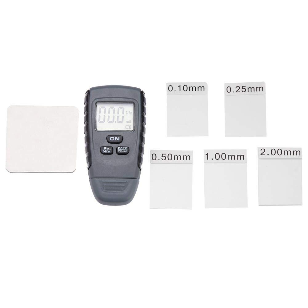 Mini-LCD-Digitalanzeige Lackdickenmessger/ät Auto Beschichtung Messger/ät Pr/üfger/ät Lackdickenmessger/ät