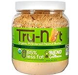 Tru-Nut Organic Powdered Peanut Butter, Original, 30 Ounce