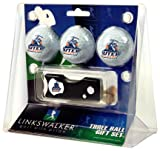 UTEP Miners NCAA 3 Golf Ball Gift Pack w/ Spring Action Divot Tool