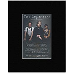 Lumineers - (New Date Added) 2016 UK Tour Mini Poster - 25.4x20.3cm