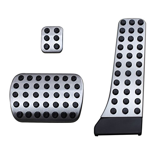 Sport Gas Pedal Cover Compatible Mercedes-Benz C E S GLC CLS Class W205 W212 W213 W222 X253 W218 W167 No Drill Steel Brake Accelerator Accessories