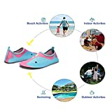 Lauwodun Baby Boys Girls Water Shoes Barefoot Aqua