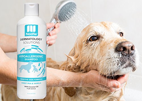 Nootie Hypoallergenic Shampoo for Dogs -Hypoallergenic Dog Shampoo Plus Conditioner For Pets With Allergies And Sensitive Itchy Dry Skin 16oz
