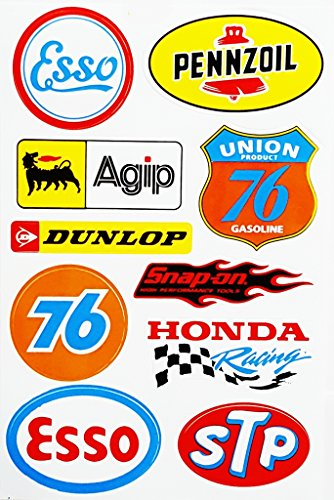 racing-decals-esso-dunlop-union-76-agip-sticker-decal-sticker-vinyl-sticker-symbol-home-decor-kitche