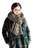 Couples Winter Warm Extra Long Wide Thick Scarf Shoulder Wrap Hood Shawl