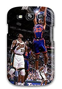 New Style 9278882K687024424 new york knicks basketball nba seattle supersonics NBA Sports & Colleges colorful Samsung Galaxy S3 cases