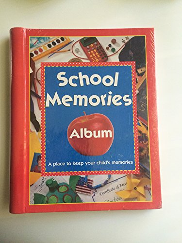 School Memories Album a Place to Keep Your Child's Memories