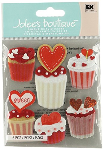 Jolee's Boutique Cupcakes Dimensional (Foam Dimensional Stickers)