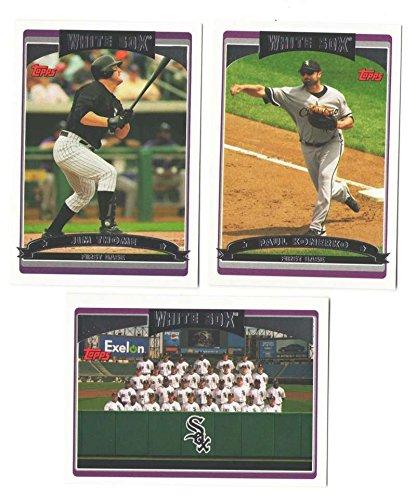 2006 Topps Team Set (2006 TOPPS - CHICAGO WHITE SOX Team Set)