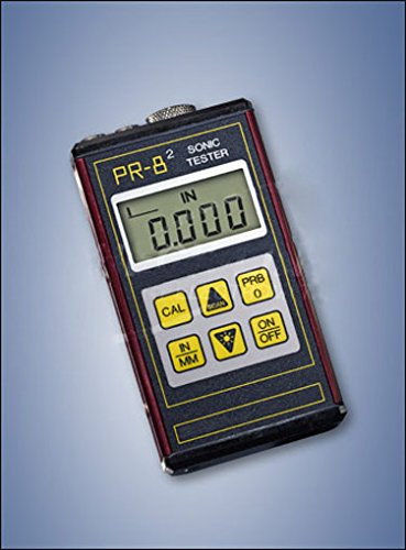 Ultrasonic Thickness Tester (PR-82 Sonic Tester, Range in Steel: 0.63 to 199.99 mm / 0.040 to 1.50 in)