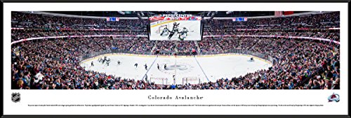 Nhl Club Collection (Colorado Avalanche Hockey - Blakeway Panoramas NHL Print with Standard Frame)