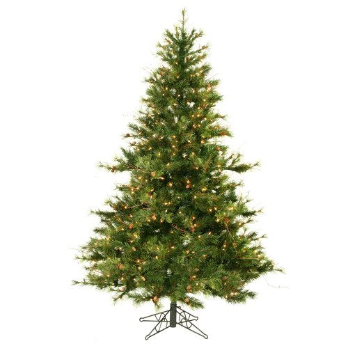Vickerman Mixed Country Pine Christmas Tree