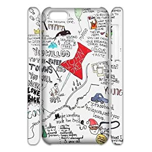 custom iphone 5c 3D case, okay okay 3D cell phone case for iphone 5c at Jipic (style 1)