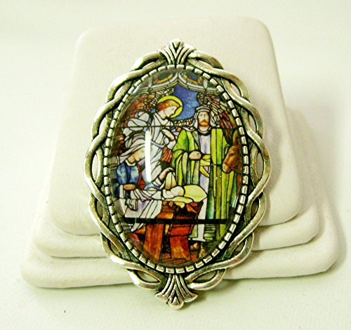 Pin Nativity - Nativity brooch - BR10-091