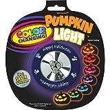 "Colour Changing Pumpkin Light Halloween Trick or Treat Party Pumpkin Carving Decoration, Plastic, 2"""
