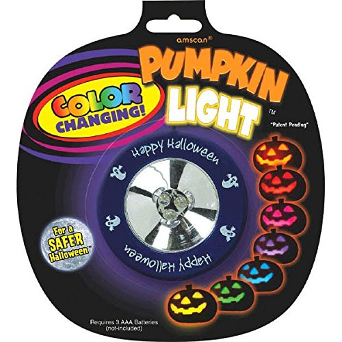 Color Changing Pumpkin Light -