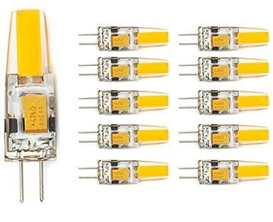 G4 LED Lampe 12V AC DC 3W,210 Lumen, Warm-Weiß, COB LED Leuchtmittel ...