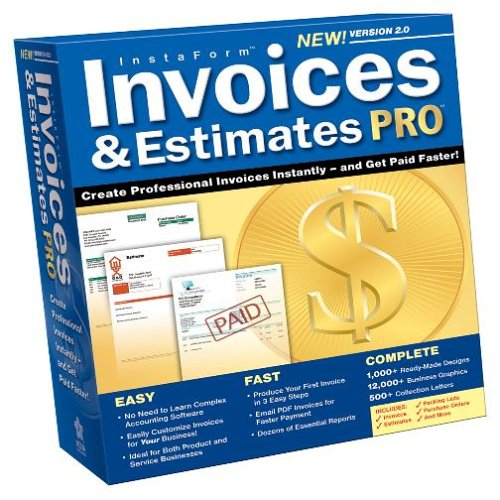 amazon com invoices and estimates pro 2 0 software