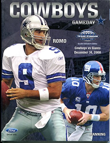 Cowboys Programs Dallas Cowboys Program Cowboys Program