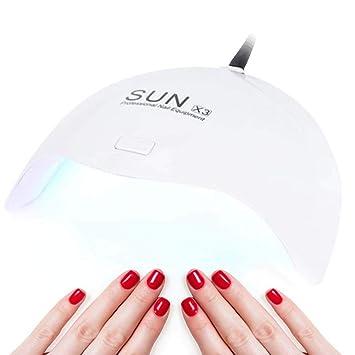 Filfeel Secador de Uñas, 24 W UV LED - Clavo lámpara eléctrica de Secado la para uñas Gel Polaco Secado de Herramientas CE RoHS consentimiento ...