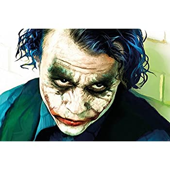Amazon.com: D3314 Heath Ledger Joker Batman Dark Knight