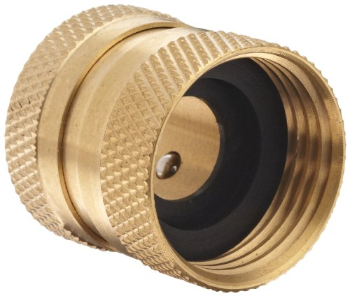 Coupler Magnetic (Dixon DGH7C Brass Quick-Connect Fitting, Garden Hose Female Coupler, 200 psi Pressure)