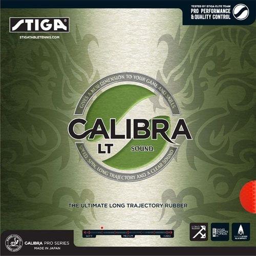 Stiga Rubber Calibra LT Sound, options 2.0 mm, red by STIGA