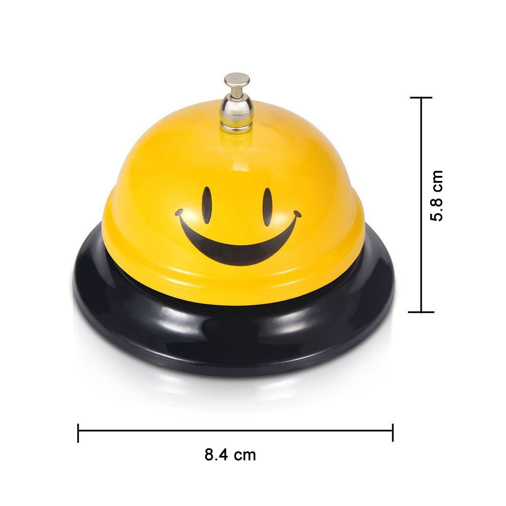 3.3 inches Comsmart Call Bell Service Bell for the Porter Kitchen Restaurant Bar Classic Concierge Hotel Use