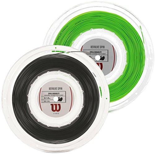 Wilson Revolve Spin Tennis String Reel, 17 Guage (Green)