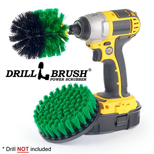 Cleaning Supplies - Kitchen Accessories - Drill Brush - Tile - Oven - Stove - Cast Iron Skillet - Sink - Cooktop - Grout Cleaner - Baseboard - Flooring - Spin Brush - Porcelain - Fiberglass - Chrome