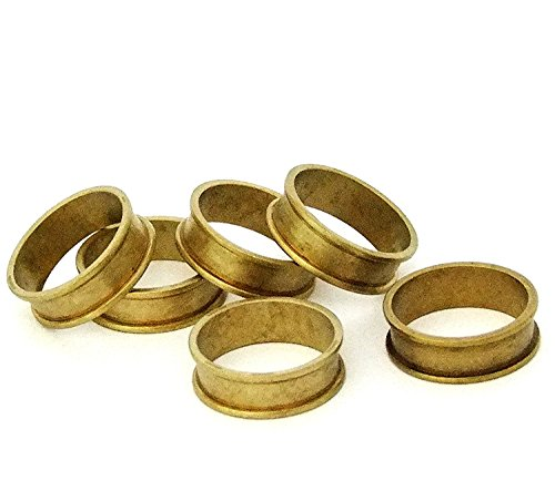 - Raw Brass Ring Blanks 1/4