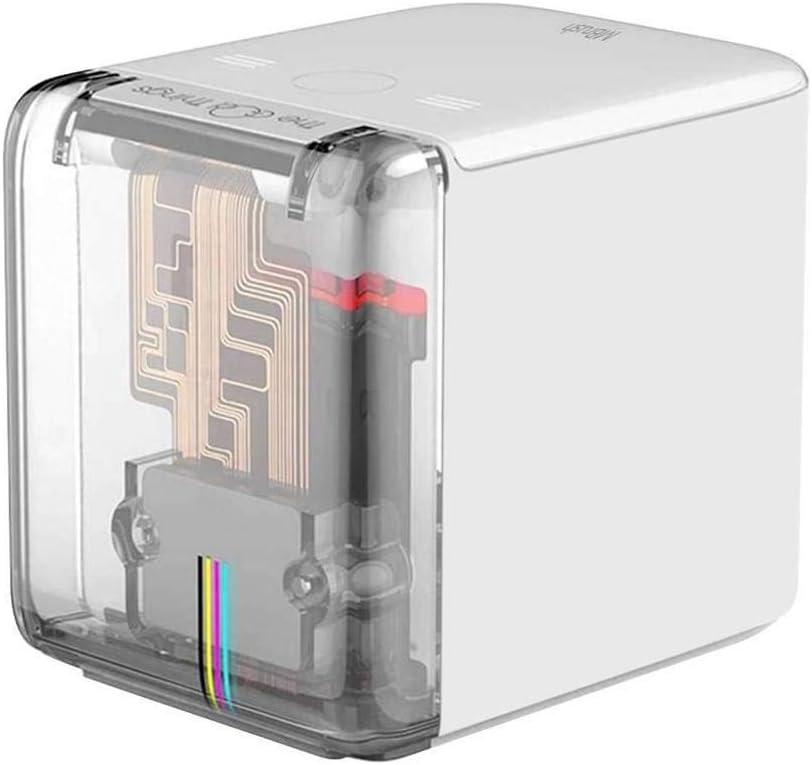 Mbrush - Impresora a Color móvil Bluetooth, Mini Impresora portátil con Carga de Tipo C, impresión en Cualquier Lugar