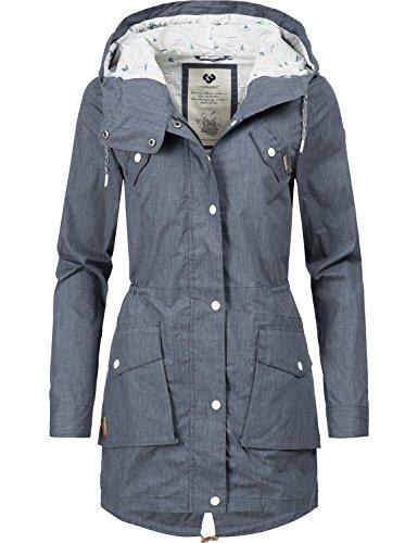 Ragwear - Abrigo - para Mujer Azul Marino