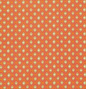Free Spirit Dena Designs Tangier Ikat Oarange Ikat -