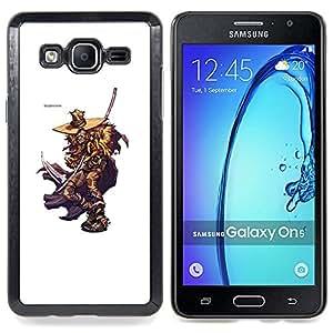 """Qstar Arte & diseño plástico duro Fundas Cover Cubre Hard Case Cover para Samsung Galaxy On5 O5 (Elm Street Killer"""")"""