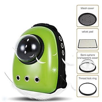 LEMONDA Portable Travel Pet Carrier Backpack,Space Capsule Bubble Design,Waterproof Handbag Backpack for Cat and Small Dog Mutil Colors to Choose