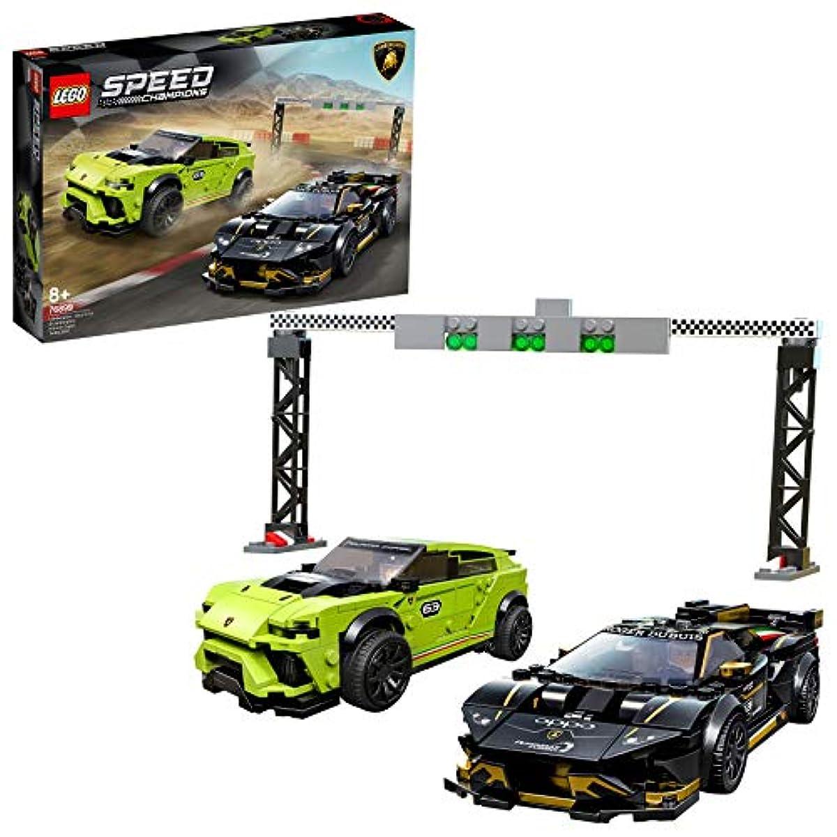 [해외] 레고(LEGO) 스피드 챔피언 람볼기니 우루스ST-X & 우라 캔슈퍼 다랑어 회오 EVO 76899