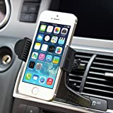 window ac holder - Premium Car AC Air Vent Mount Compact Holder Dock for iPhone SE, 6 6S, 6 and 6S Plus, 5S 5C 5 5G 4S (All carriers including AT&T, T-Mobile, Sprint, Verizon, Straight Talk, Unlocked)
