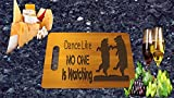 Dance Like No one is Watching Bears Laser Engraved 9x12 Bamboo Cutting Board